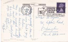 1975 SLOGAN -KNOWLESEY SAFARI PARK, PRESCOT. MERSEYSIDE - Postmark Collection