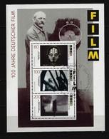 BUND - Block Mi-Nr. 33 - 100 Jahre Deutscher Film Ersttags - Gestempelt BERLIN - BRD