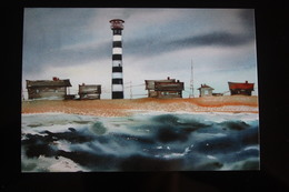 Russia. Morzhovets Lighthouse, White Sea - Modern Postcard - Lighthouses