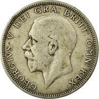 Monnaie, Grande-Bretagne, George V, Florin, Two Shillings, 1928, TB, Argent - 1902-1971 : Monnaies Post-Victoriennes