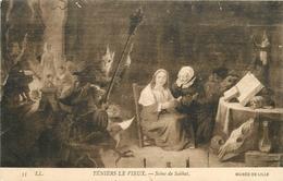 TENIERS LE VIEUX SCENE DE SABBAT MUSEE DE LILLE - Schilderijen