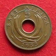 East Africa 5 Cents 1955  Africa Oriental Afrique Afrika Wºº - Autres – Afrique