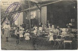 54 - NANCY - La Cure D'Air Saint-Antoine - Devant Le Hall. Belle Animation, CPA Ayant Circulé En 1914. - Nancy