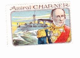 Vignette Militaire Delandre - Marine - Amiral Charner - Vignettes Militaires