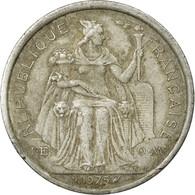 Monnaie, French Polynesia, 2 Francs, 1975, Paris, TB, Aluminium, KM:10 - Frans-Polynesië