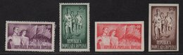 Roumanie - N°1072 à N°1075 - Organisation Du Sport Populaire - Neufs Sans Charniere ** MNH - Cote 27.50€ - 1948-.... Repúblicas