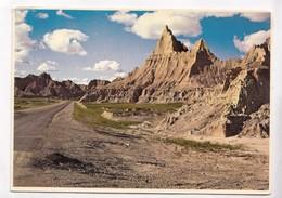 BADLANDS NATIONAL MONUMENT, South Dakota, Postcard [22525] - Etats-Unis