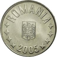 Monnaie, Roumanie, 10 Bani, 2005, Bucharest, SUP, Nickel Plated Steel, KM:191 - Roumanie