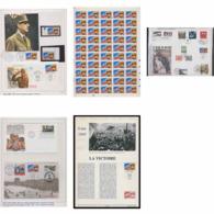 082 Charles De Gaulle - Neuf ** MNH France 2944 Superbe Ensemble Non Dentelé (imperforate) + Feuilles (sheets) ... - De Gaulle (General)