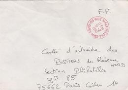 LSC 1990 - Cachet Rouge - NICE MALAUSSENA (Alpes Maritimes) - Bolli Manuali