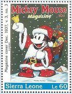 Sierra Leona 1996 Scott 1573 Sello ** Walt Disney Mickey Mouse Magazines Le60 Sierra Leone Stamps Timbre Briefmarke - Disney