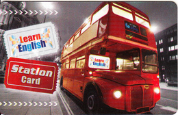 GREECE - Bus, E-Planet Educational Services Internet Station Card, Used - Musique & Instruments