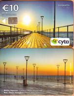 CYPRUS - Limassol Molos Promenade(0117CY, No Notch), Tirage %50000, 03/17, Sample(no CN) - Cyprus