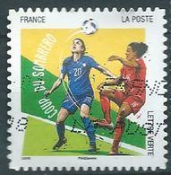 FRANCE 2016 Football Coup De Sombrero  Timbres De Cette Série YV 1279 - Ohne Zuordnung