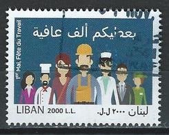 Lebanon. Scott # 740 Used. Labor Day High Value 2016 - Liban