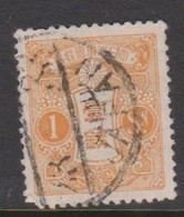 Japan S138 1924 Tazawa 1s Orange,used - Used Stamps