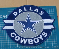 """DALLAS COWBOYS LOGO NFL FOOTBALL 10"""" HUGE JERSEY PATCH EMBROIDERED - Dallas Cowboys"""