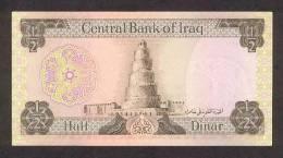 IRAQ P.  62 1/2 D 1971 UNC (s. 18) - Irak