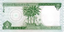 IRAQ P.  61 1/4 D 1973 UNC (s. 18) - Iraq