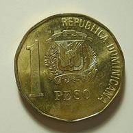 Dominicana 1 Peso 1993 - Dominicaine
