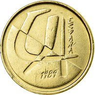 Monnaie, Espagne, Juan Carlos I, 5 Pesetas, 1989, Madrid, TTB, Aluminum-Bronze - [ 5] 1949-… : Royaume