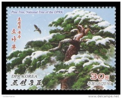 North Korea 2016 Mih. 6303 Flora. Pine Tree MNH ** - Korea, North