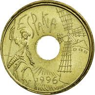 Monnaie, Espagne, Juan Carlos I, 25 Pesetas, 1996, Madrid, SUP, Aluminum-Bronze - [ 5] 1949-… : Royaume