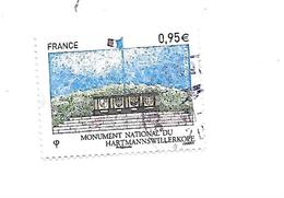 Monument National Du Hartmannswillerkopf 4966 Oblitéré 2015 - France