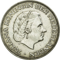 Monnaie, Pays-Bas, Juliana, 2-1/2 Gulden, 1962, TTB+, Argent, KM:185 - [ 3] 1815-… : Royaume Des Pays-Bas