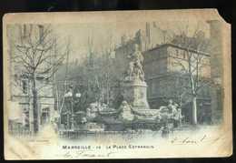 13 MARSEILLE La Place Estrangin 1901 (55) - Canebière, Centre Ville