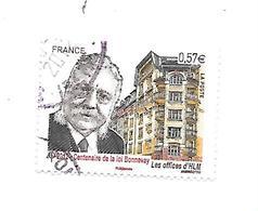 Centenaire De La Loi Bonnevay N°4710 Oblitéré Année 2012 - Gebraucht