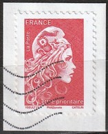"France 2018 - Marianne ""L""engagée "" ( Mi 7075yA - YT Xxx ) - 2013-... Marianne De Ciappa-Kawena"