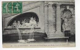 60 - Parc De CHANTILLY - Décoration Du Grand Degré, Par Hardy, D'après Le Nôtre (1682) - 1918  (M189) - Chantilly