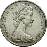 Monnaie, Australie, Elizabeth II, 20 Cents, 1980, SUP, Copper-nickel, KM:66 - Monnaie Décimale (1966-...)