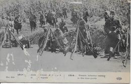 Militaires Français Dans Les Vignes-MO - Guerra 1914-18