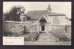 CPA 27 - FOURS - Environs D' ECOS - Eglise De Fours - TB PLAN EDIFICE RELIGIEUX - Francia