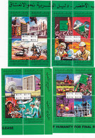 Libya 1979 -10th Ann Revolution Issued In Bloc's Of 4  X 4 =16 Stamps Compl MNH - Scarce Reduced Pr.SKRILL PAY ONLY - Libië