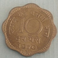 1970..10 Paise..Inde India Circulated Coin - India