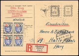1946, Französische Zone Baden, Brief - Französische Zone