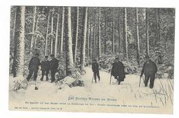 Cpa ORBEY-Lac Blanc En Allant à La Course De Ski - 1909 - Orbey