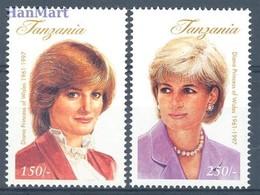 Tanzania 1998 Mi 2842-2843 MNH ( ZS4 TNZ2842-2843 ) - Tanzania (1964-...)