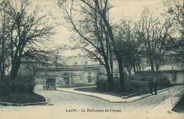Laon La Prefecture De L'Aisne RV  Timbres 15C +5C - Laon