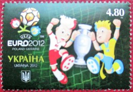 Ukraine  2012  Football  EURO - 2012  1 V MNH - Championnat D'Europe (UEFA)