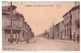 REIMS Rue De Neufchatel Vers Les Casernes (carte Animée) - Reims