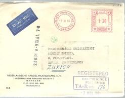 LETTER 1961 REGISTERED - Pakistán