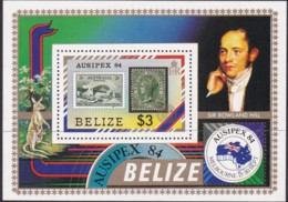 Belize 1984 Ausiepex Sc 731 Mint Never Hinged - Belice (1973-...)