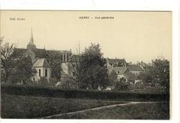 Carte Postale Ancienne Herry - Vue Générale - France