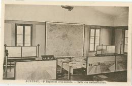 Auxerre; 4e Régiment D' Infanterie. Salle Des Transmissions - Non Vboyagé. (éditeur?) - Auxerre