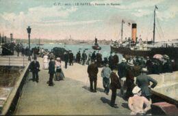 N°68089 -cpa Le Havre -rentrée De Navires- - Commerce