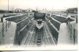 N°68092 -cpa Le Havre -une Petite Cale Sèche De Radoub- - Commerce